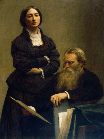 Fantin-Latour - Mr and Mrs Edwin Edwards