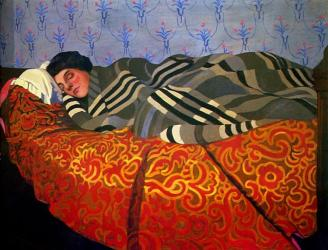 Vallotton - Sleeping Woman