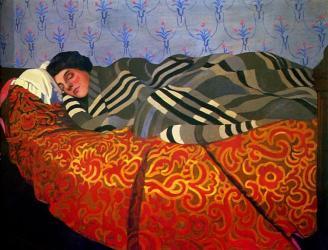Vallotton - Sleeping Woman