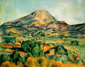 Cezanne - Mont Sainte Victoire