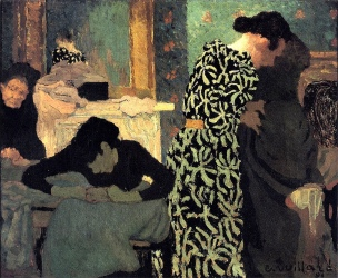 Vuillard - The Flowered Dress