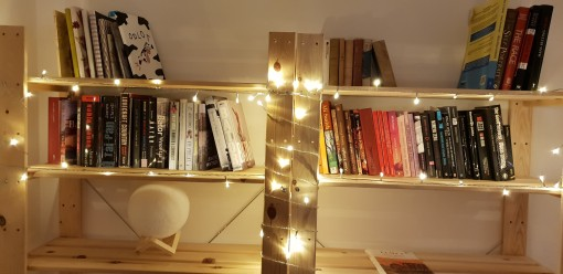 books to be read in the bedroom